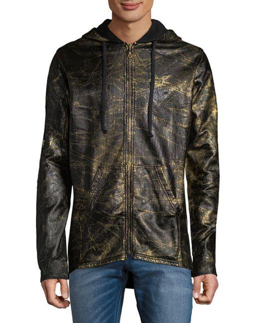 Robin's Jean - Multicolor Full-zip Cotton Hoodie for Men - Lyst