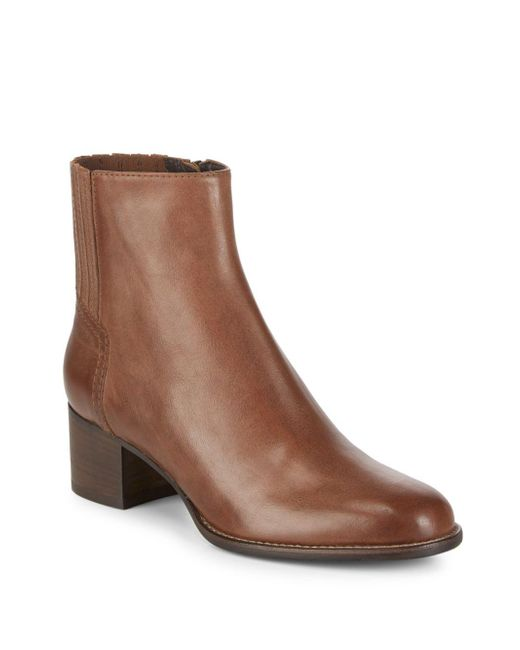 Aquatalia - Brown Teri Sport Leather Boots - Lyst