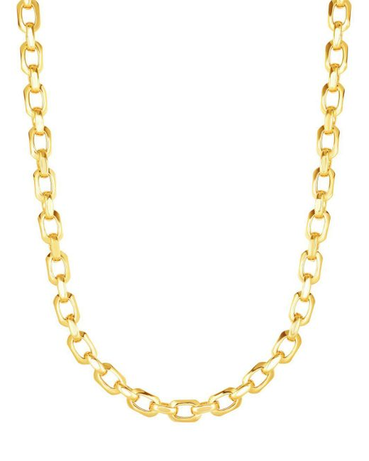 Saks Fifth Avenue - Metallic 14k Yellow Gold Necklace - Lyst