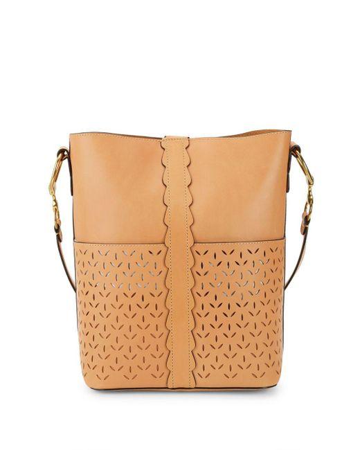 Frye - Brown Ilana Leather Shoulder Bag - Lyst
