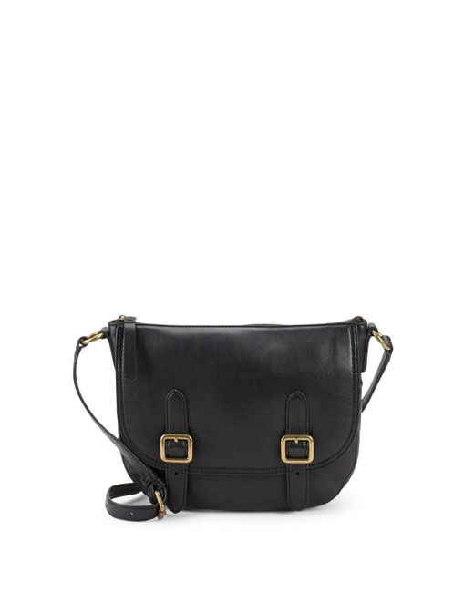 Frye - Black Lil Leather Crossbody Bag - Lyst