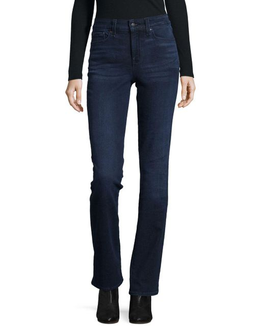 NYDJ - Blue Marlyn Straight-leg Jeans - Lyst