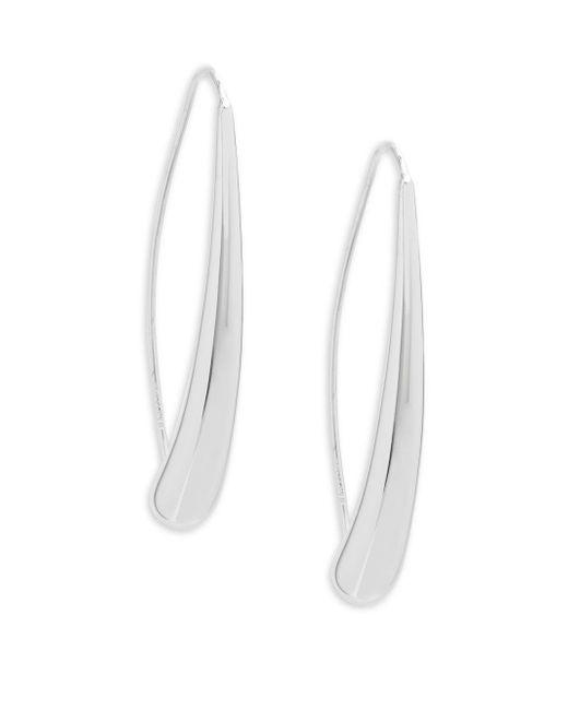 Saks Fifth Avenue - Multicolor 14k White Gold Teardrop Earrings - Lyst
