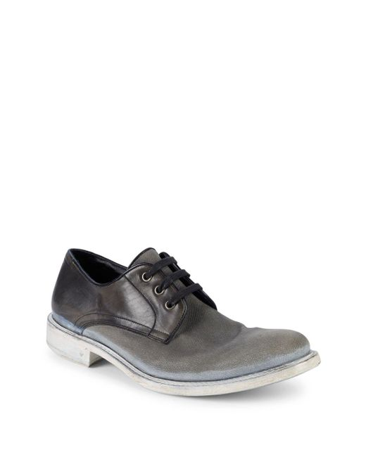John Varvatos - Multicolor College Derby Lace-up Shoes for Men - Lyst