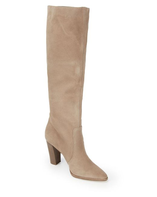 Dolce Vita - Brown Cameo Suede Mid-calf Boots - Lyst
