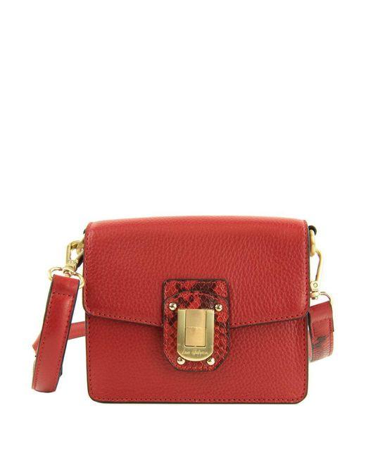 Sam Edelman - Red Leather Mini Bag - Lyst