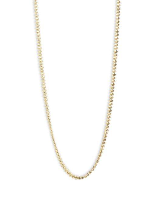 Eddie Borgo - Metallic Pave Cone Strand Necklace - Lyst