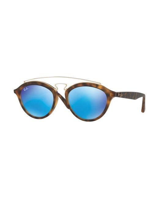 Ray-Ban - Blue 50mm Gatsby Oval Sunglasses - Lyst