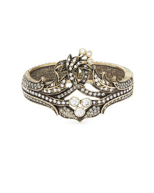 Heidi Daus - Metallic Deco Crystal Bangle Bracelet - Lyst