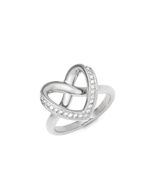 Swarovski - Metallic Cupidon Crystal Ring - Lyst