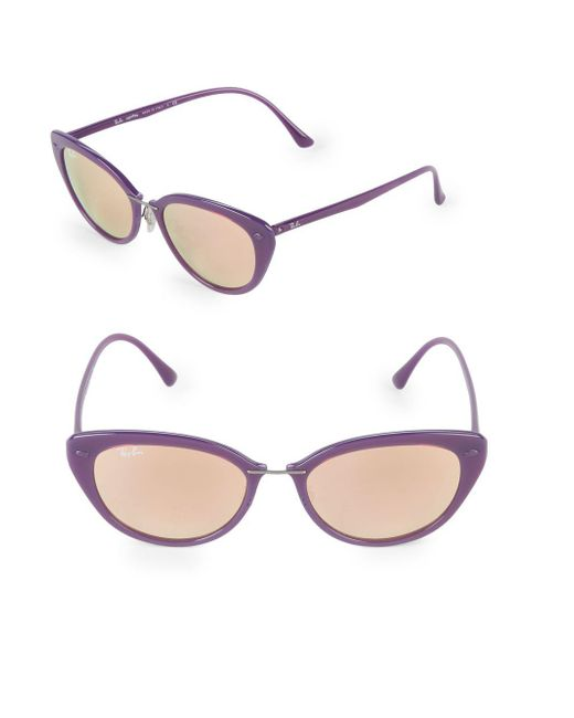 Ray-Ban - Purple 52mm Butterfly Sunglasses - Lyst