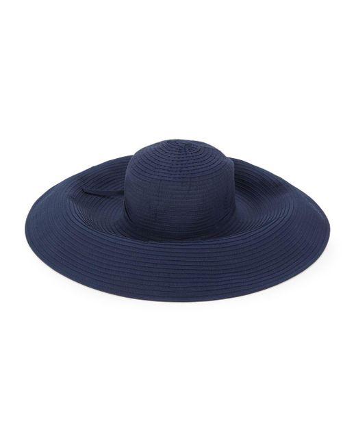 San Diego Hat Company - Blue Large Down Brim Floppy Hat - Lyst