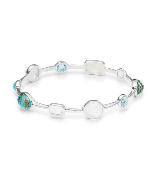 Ippolita - Blue 925 Rock Candy Quart And Topaz Bracelet - Lyst