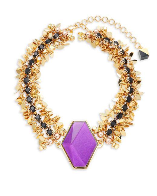 Nocturne - Metallic Ryu Choker Necklace - Lyst