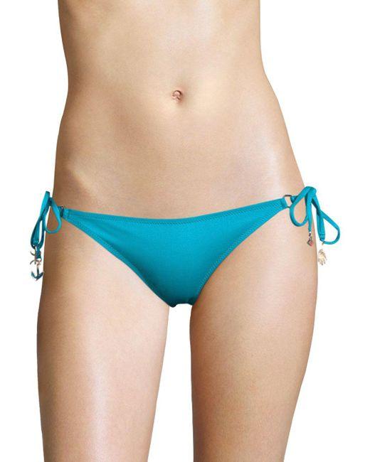 Lazul - Blue Nubia Braided Tassel Hipster Bikini Bottom - Lyst