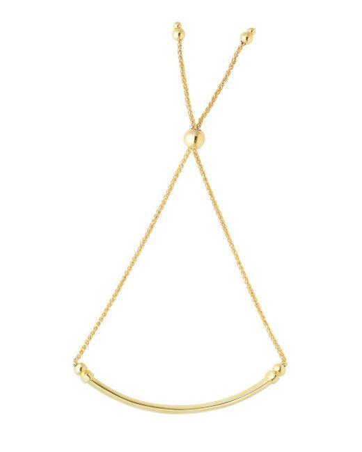 Saks Fifth Avenue - Metallic Adjustable Goldtone Chain Bracelet - Lyst