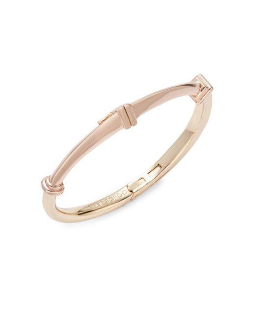 Eddie Borgo | Metallic Polished Plinth Cuff Bracelet | Lyst