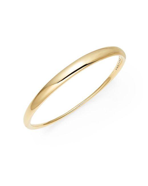 Adriana Orsini   Metallic Crescent Bangle Bracelet   Lyst