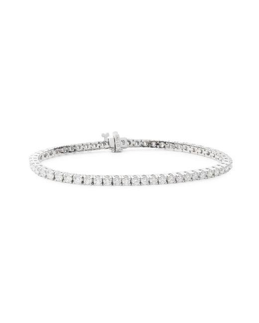 Saks Fifth Avenue - Multicolor 4.59 Tcw Diamond & 14k White Gold Bracelet - Lyst