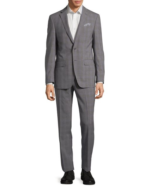 Tallia Orange - Gray Mason Slim-fit Wool Suit for Men - Lyst