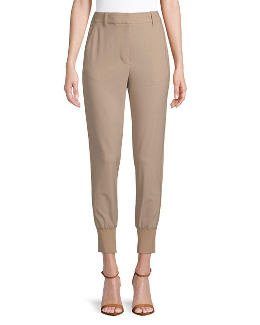 3.1 Phillip Lim - Natural Tailored Jogger Pants - Lyst