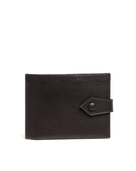 Maison Margiela - Metallic Leather Fold Card Wallet for Men - Lyst