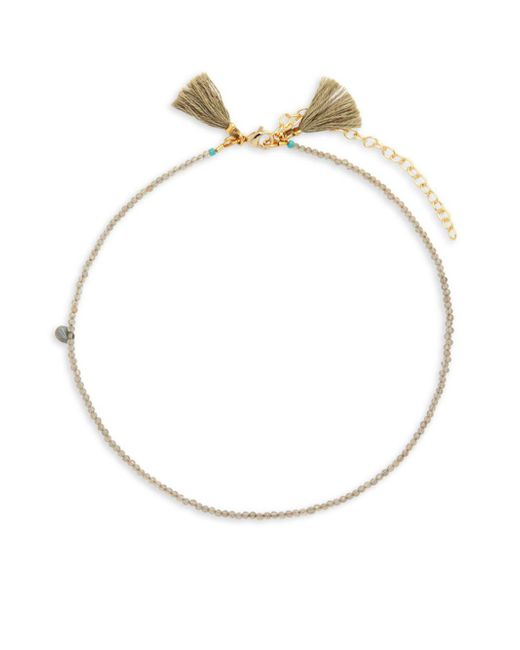 Shashi - Metallic Lola 18k Gold-plated & Beaded Choker Necklace - Lyst