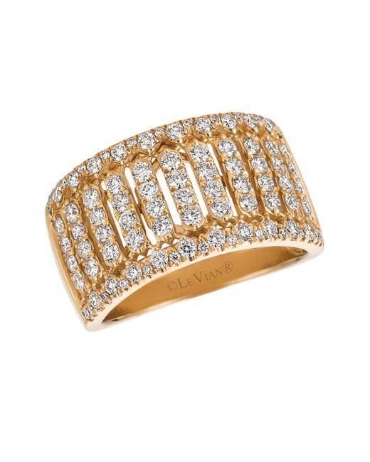 Le Vian - Metallic Vanilla Diamond And 14k Honey Gold Ring, 1.06 Tcw - Lyst