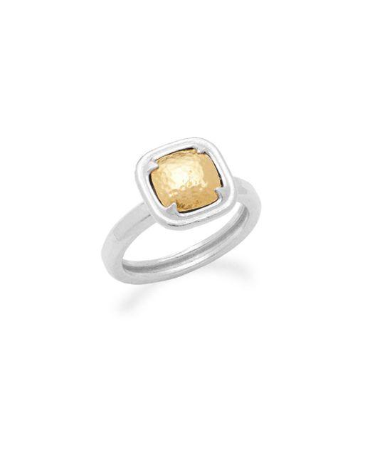 Gurhan - Metallic Sterling Silver Ring - Lyst