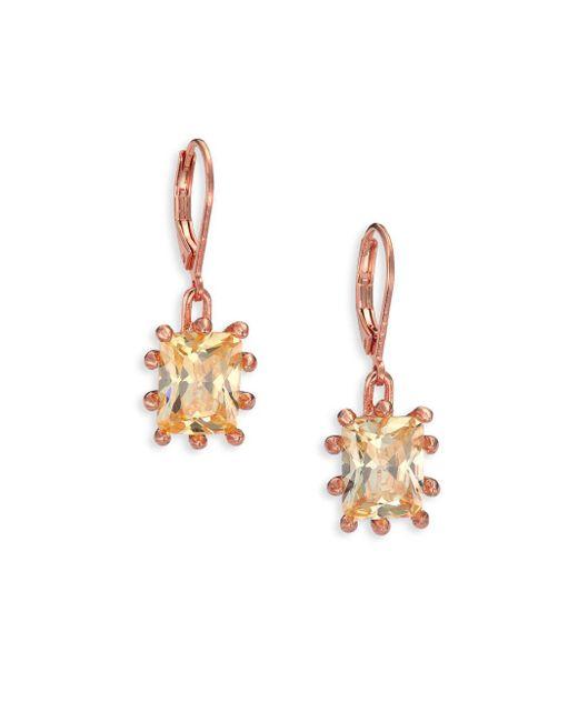 Eddie Borgo   Metallic Estate Crystal Drop Earrings   Lyst