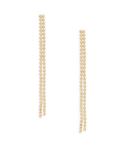 Saks Fifth Avenue | Metallic Goldtone/silvertone Metal Earrings | Lyst