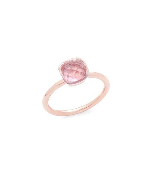 Saks Fifth Avenue - Pink 14k Rose Gold Rose De France Ring - Lyst
