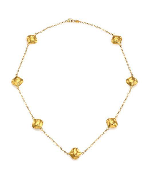 Gurhan - Metallic Clove 24k Yellow Gold Cielo Station Necklace - Lyst