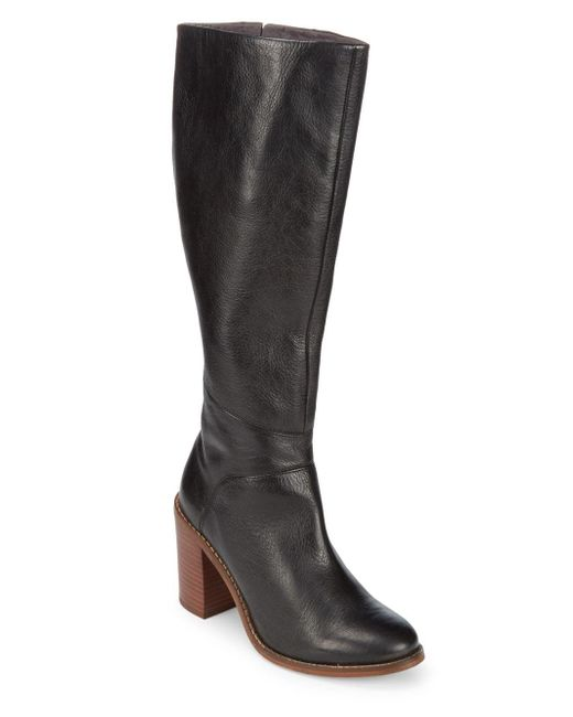Seychelles - Black Memory Leather Mid-calf Boots - Lyst