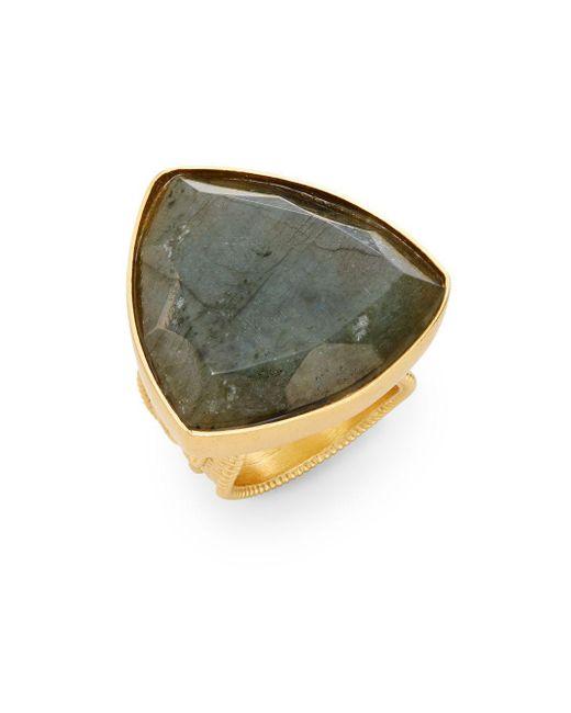 Stephanie Kantis | Metallic Faceted Labradorite Ring | Lyst