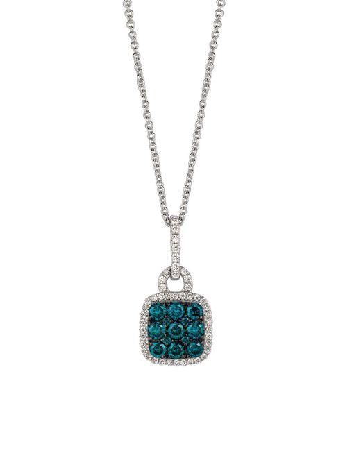 Le Vian - Metallic Exotics Vanilla Diamond, Blueberry Diamond And 14k Vanilla Gold Pendant Necklace, 0.53 Tcw - Lyst