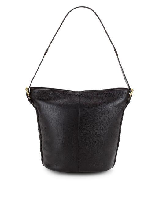 Cole Haan - Black Loralie Leather Bucket Bag - Lyst