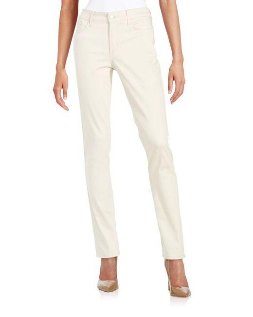 NYDJ - Multicolor Straight-leg Jeans - Lyst