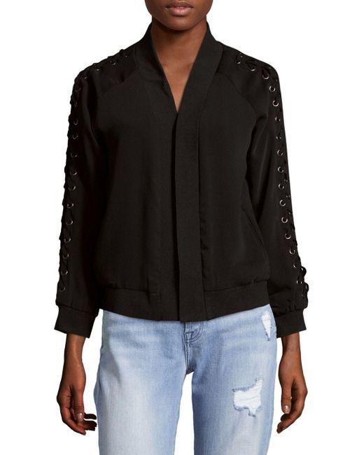 Saks Fifth Avenue - Black Soft Open Jacket - Lyst