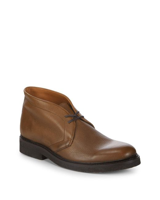 Frye - Brown Country Leather Chukka Boots for Men - Lyst