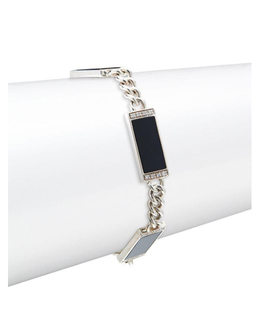 Effy - Metallic Diamond & .925 Sterling Silver Tennis Bracelet - Lyst