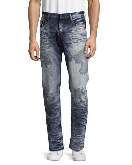 PRPS | Blue Congress Acid-wash Five-pocket Jeans for Men | Lyst