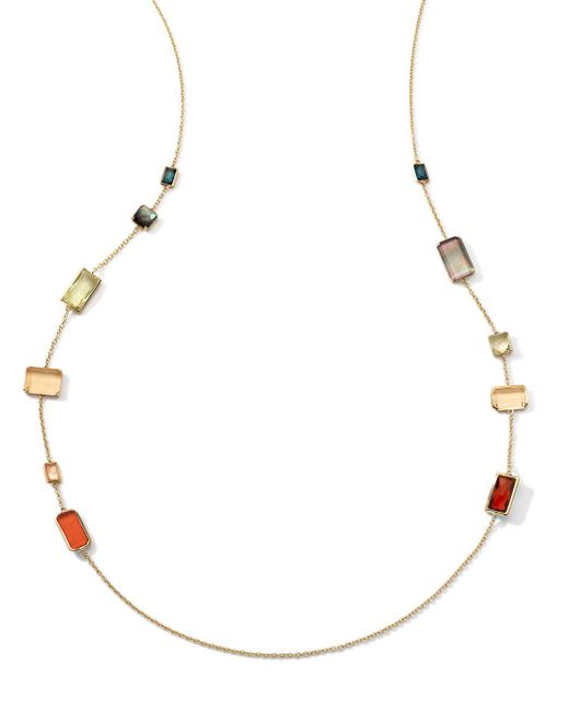 Ippolita | Metallic Rock Candy 18k Gold Necklace | Lyst