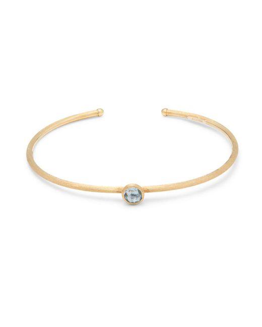 Marco Bicego - Metallic Jaipur Topaz & 18k Gold Bangle Bracelet - Lyst