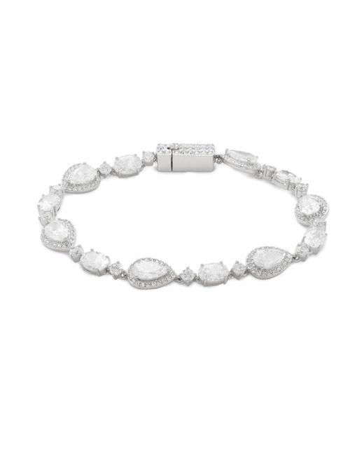 Adriana Orsini - Metallic Crystal Bascupdt Bracelet - Lyst