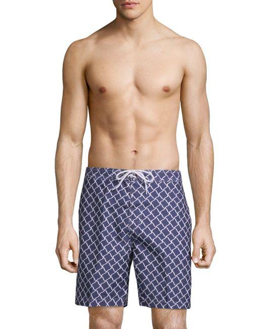 Trunks Surf & Swim - Blue Swami Shorts for Men - Lyst