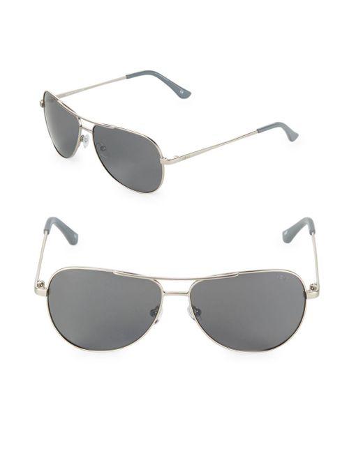 Robinson Les Bains - Metallic Johnston Aviator Sunglasses - Lyst