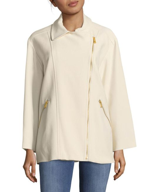 Marc By Marc Jacobs - White Eva Stretchable Jacket - Lyst