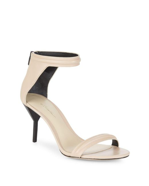 3.1 Phillip Lim - Multicolor Martini Mid-heel Ankle Strap Sandals - Lyst