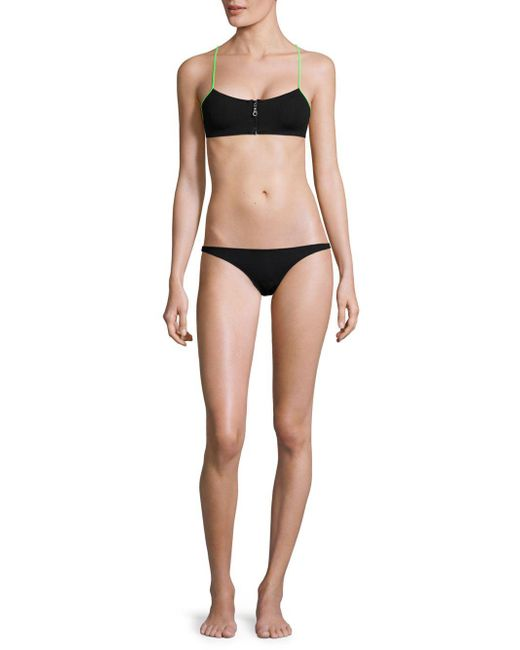 Melissa Odabash - Black Lima Bikini Top - Lyst